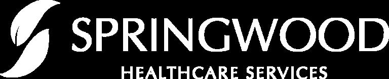 Springwood white logo